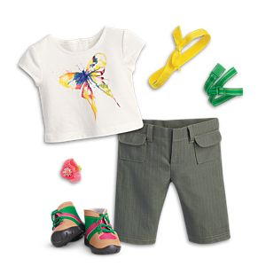 Rainforest Hike Outfit for 18-inch Dolls