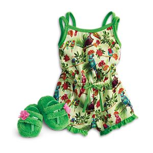 Rainforest Dreams Pajamas for 18-inch Dolls