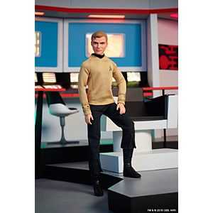 Barbie® Star Trek™ 50th Anniversary Captain Kirk Doll