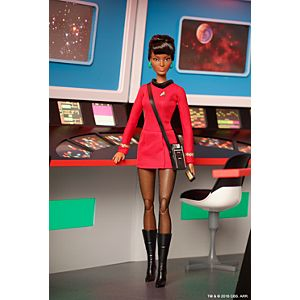 Barbie® Star Trek™ 50th Anniversary Lieutenant Uhura Doll