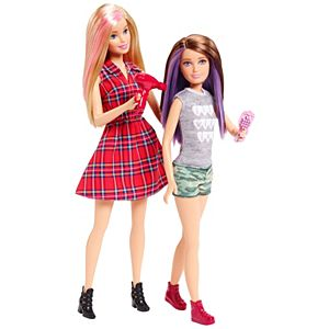 Barbie® and Skipper™ Dolls 2 Pack