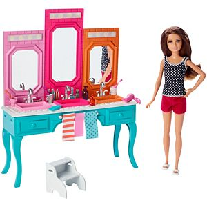 Barbie® Sisters - Skipper® Doll & Vanity