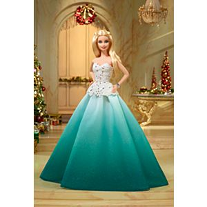 Barbie™ 2016 Holiday Doll - Aqua Gown