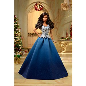 Barbie™ 2016 Holiday Doll - Blue Gown