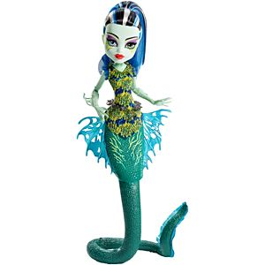 Monster High® Great Scarrier Reef Glowsome Ghoulfish™ Frankie Stein® Doll