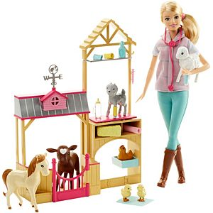 Barbie® Farm Vet Doll & Playset