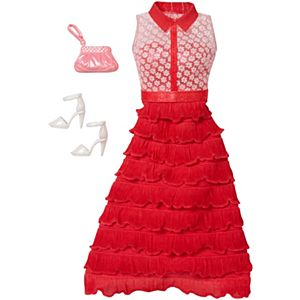 Barbie® Fashions - Red Ruffles