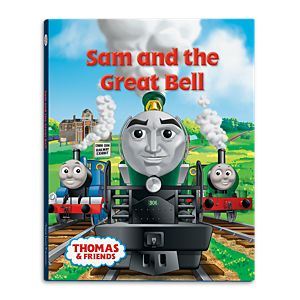 Thomas & Friends™ Wooden Railway Sam and the Great Bell Book