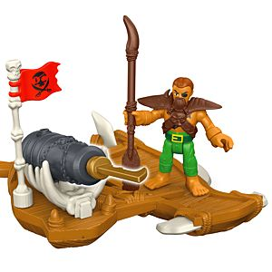 Imaginext® Captain Kidd & Surf Board