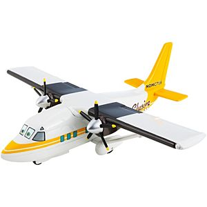 Disney Planes Sharpes With Spinning Propellers Deluxe Die-Cast Plane