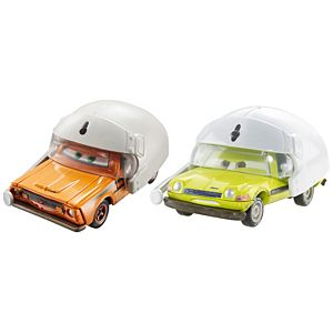 Disney Cars Grem With Helmet & Acer With Helmet Vehicles