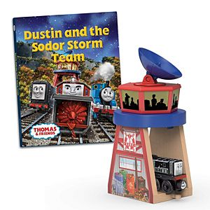 Thomas & Friends™ Wooden Railway Dustin and the Sodor Storm Team