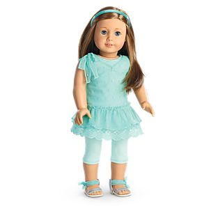 Spring Breeze Dress Set for 18-inch Dolls