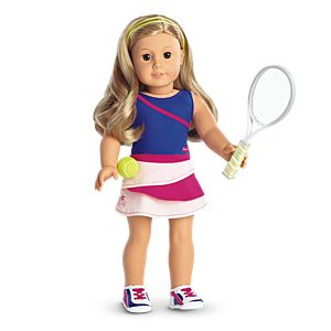 Tennis Ace Outfit for 18-inch Dolls