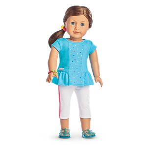 Rainbow Sprinkles Outfit for 18-inch Dolls