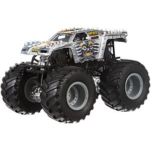Hot Wheels Monster Jam 1:64 Max-D (Silver)