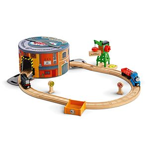 Thomas & Friends™ Wooden Railway Working Hard Steamies and Diesels Set