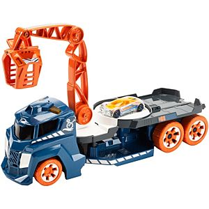 hot wheels spinnin sound crane vehicle