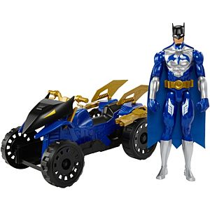 Batman™ 12-Inch Tall Unlimited Batman™ & Attack ATV Figure & Vehicle