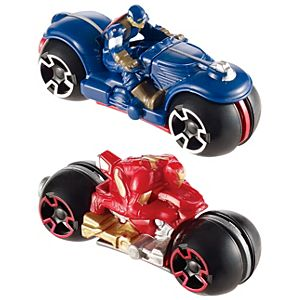 Hot Wheels® Marvel Iron Man™ Moto 2 Pack