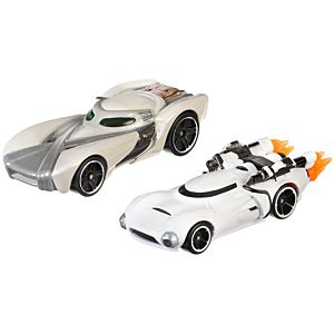 Hot Wheels® Star Wars™ Character Car 2-Pack Rey™ Vs. First Order Flametrooper™