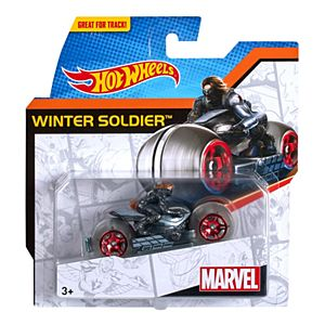 Hot Wheels Marvel Moto Winter Soldier