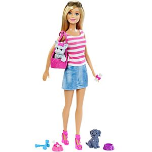 Barbie® Doll & Pets Gift Set