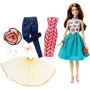 Barbie® Fashion Mix 'n Match Doll - Brunette