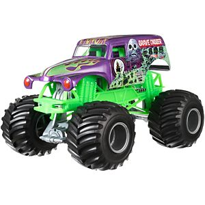 Hot Wheels® Monster Jam Grave Digger Truck, Purple