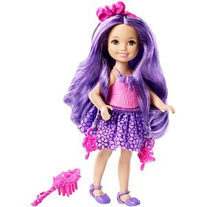 Barbie® Endless Hair Kingdom™ Chelsea - Purple Hair