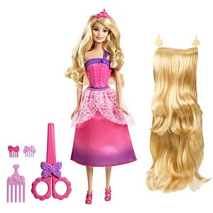 Barbie® Endless Hair Kingdom Longest Locks Doll - Blonde