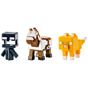 Minecraft® Mini Figure 3-Pack #2 - Obsidian Series