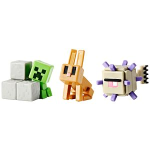 Minecraft® Mini Figure 3-Pack #4 - Obsidian Series