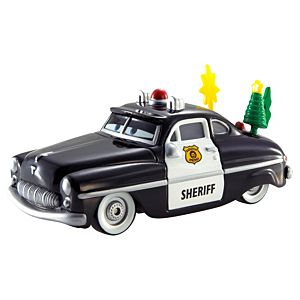 Disney Cars Holiday Spirit Sheriff Die-Cast Vehicle