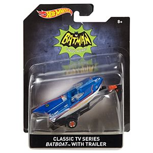 Hot Wheels® Classic TV Series Batboat™ With Trailer Vehicle