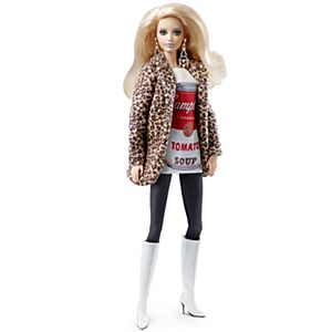 <em>Andy Warhol</em> Barbie&#174; Doll