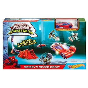 Hot Wheels® Marvel® Spidey's Speed Drop™ Track Set