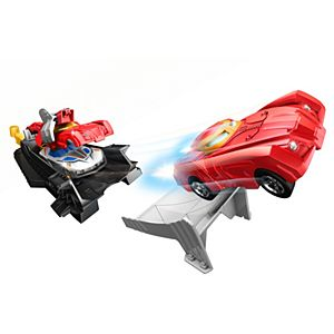 Hot Wheels® Marvel® Iron Man™ Armor-Up Launcher