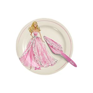 Barbie™ Cake Plate & Server Set