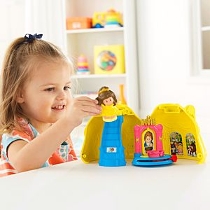 Little People® Disney Princess Belle's Magical Dress