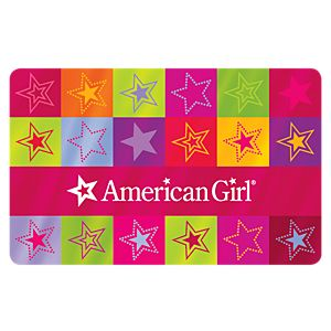 Colorful Stars Gift Card