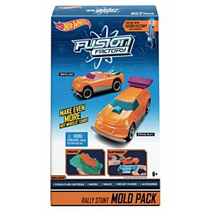 Hot Wheels® Fusion Factory™ Rally Stunt Mold Pack