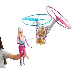 Barbie™ Star Light Adventure Barbie® Doll & Flying Cat