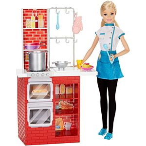 Barbie® Spaghetti Chef Doll & Playset