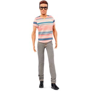 Barbie® Fashionistas® Ken™ Doll 3 Stylin' Stripes