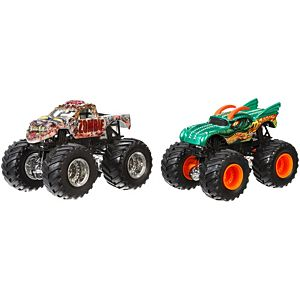 Hot Wheels® Monster Jam® Demolition Doubles Zombie vs Dragon