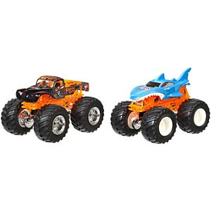 Hot Wheels® Monster Jam® Demolition Doubles® - Captains Curse® Vs Shark Wreak