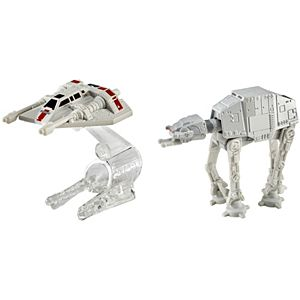 Hot Wheels® Star Wars™ At At™ Vs Rebel Snowspeeder™ 2-Pack