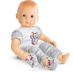 Bitty Kitty PJs for Bitty Baby Dolls
