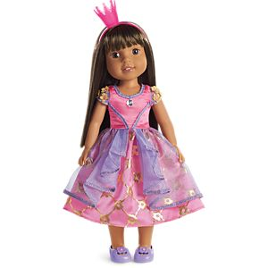 Daisy Princess Costume for WellieWishers Dolls